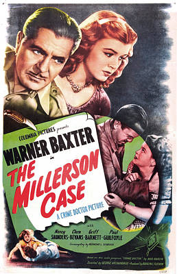 The Millerson Case, Us Poster, Top Poster by Everett