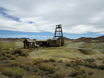 Poster featuring the photograph The Mine by Marilyn Diaz