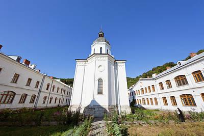 The Monastery Of Bistrita In Wallachia Poster