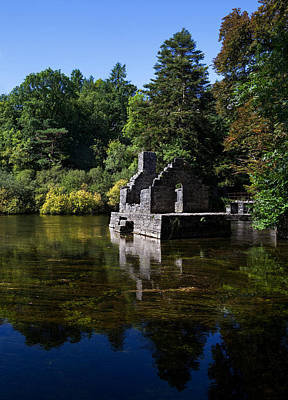 The Monks Fishing House, Part Of Cong Poster by Panoramic Images