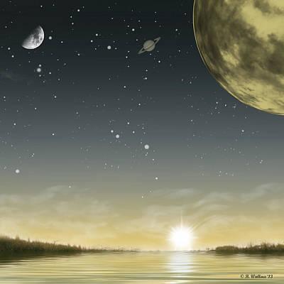 The Moon Lagoon Poster