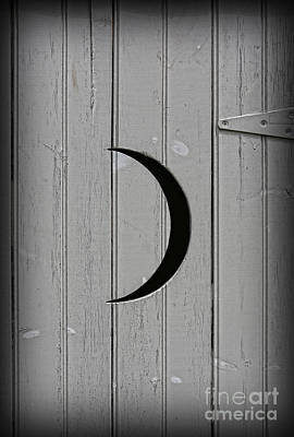 The Moonlight Outhouse Poster by Lee Dos Santos