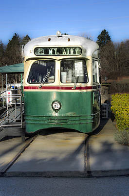 The Mount Airy Trolley Car Diner Poster