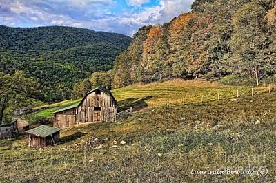 The Mountain Farm Poster