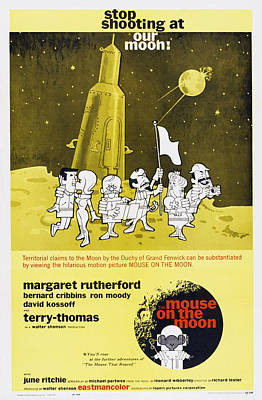 The Mouse On The Moon, Us Poster Art Poster