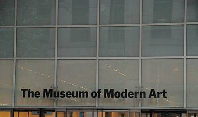 The Museum Of Modern Art Poster