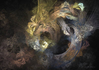 The Mystical Garden - Surrealism Poster