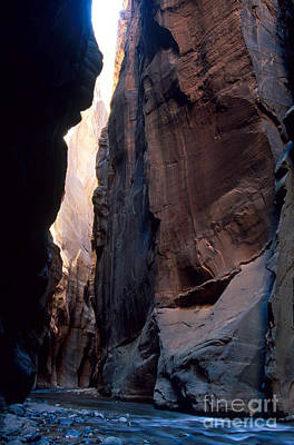 The Narrows Slot Canyon Poster