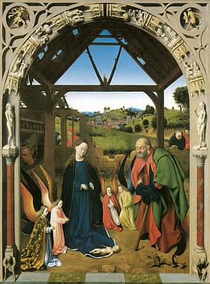 The Nativity Poster by Petrus Christus