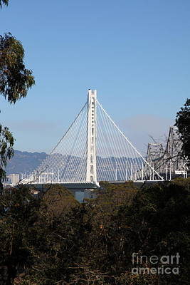 The New And The Old Bay Bridge San Francisco Oakland California 5d25397 Poster