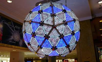 The New Years Eve Times Square Ball Poster by Kenneth Summers