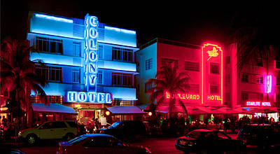 The Ocean Drive Poster