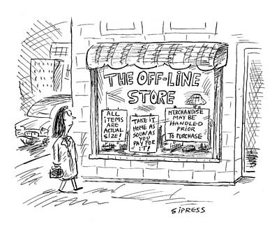 The Off-line Store Poster