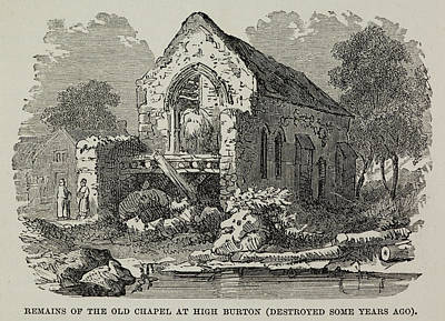 The Old Chapel At High Burton Poster by British Library
