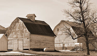 Poster featuring the photograph The Old Farm by Kirt Tisdale