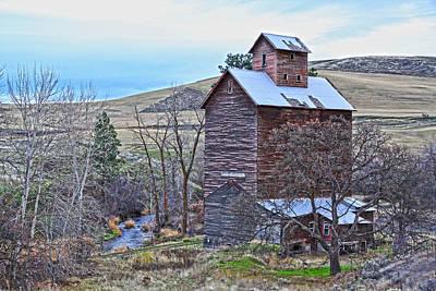 The Old Grain Storage Poster by Steve McKinzie
