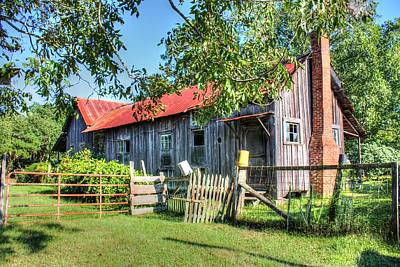 Poster featuring the photograph The Old Home Place by Lanita Williams