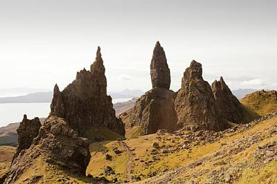 The Old Man Of Storr Poster by Ashley Cooper