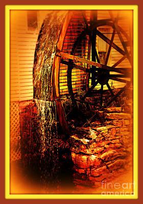 The Old Mill 1886 Cherokee North Carolina Poster