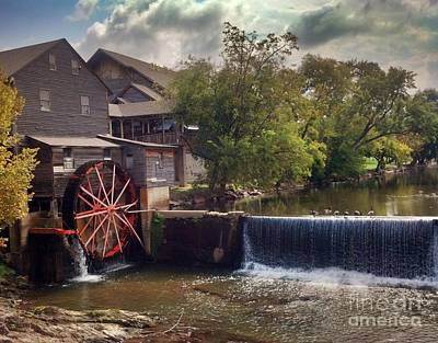 Poster featuring the photograph The Old Mill by Janice Spivey