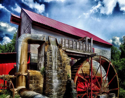 The Old Mill Of Guilford Poster by Mountain Dreams