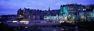 The Old Town Edinburgh Scotland Poster