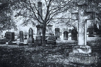 The Old Weathered Cross - Greensboro North Carolina II Poster by Dan Carmichael