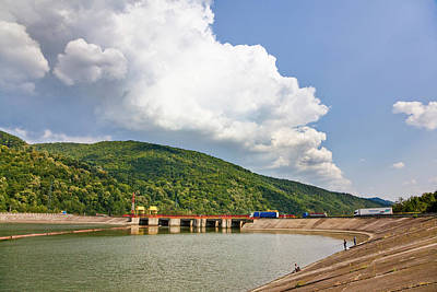 The Olt Gorge Through The Carpathian Poster