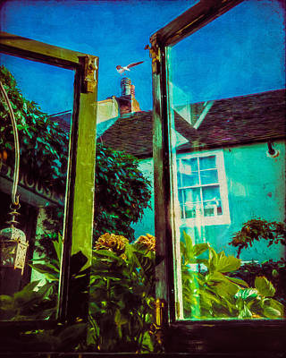 Poster featuring the photograph The Open Window by Chris Lord