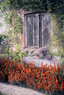 Poster featuring the painting The Open Window by Rosemary Colyer