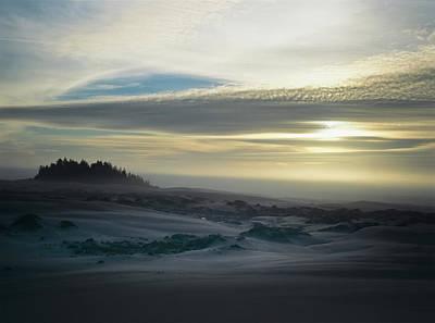 The Oregon Coast Has Many Moods Poster by Robert L. Potts