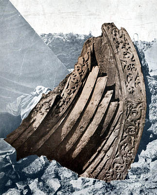 The Oseberg, Viking Ship Poster by Science Source