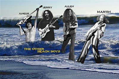 Poster featuring the photograph The Other Beach Boys by Ben Upham III