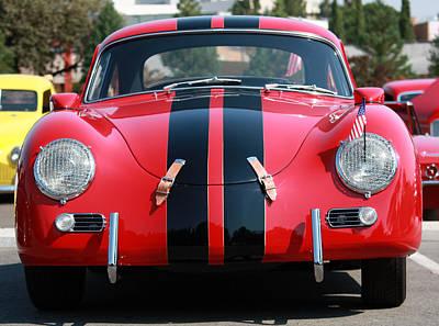 The Outlaw 356 Porsche Poster by Rita Kay Adams