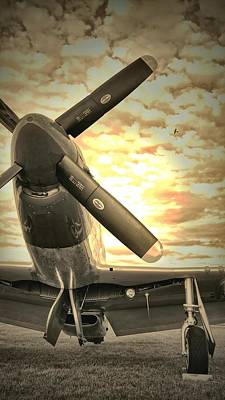The P51 Mustang  Poster