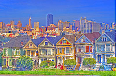 The Painted Ladies Poster