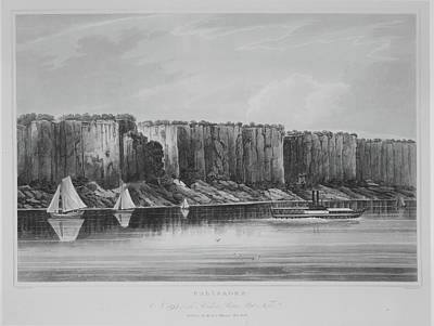 The Palisades No. 19 Of The Hudson Poster