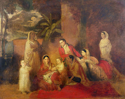 The Palmer Family, 1785 Oil On Canvas Poster