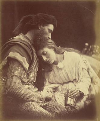 The Parting Of Sir Lancelot And Queen Guinevere Julia Poster