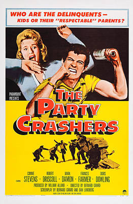 The Party Crashers, Connie Stevens Poster by Everett