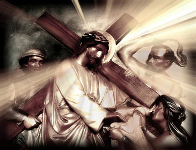 The Passion Of Christ X Poster by Aurelio Zucco