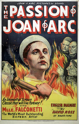 The Passion Of Joan Of Arc Poster by Granger