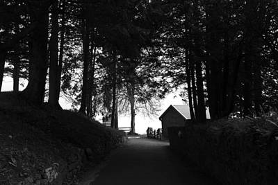 The Path Leading To The Boathouse Restaurant In Fort Augustus Poster