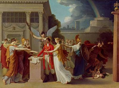 The Peace Of Amiens, 25th March 1802 Oil On Canvas Poster