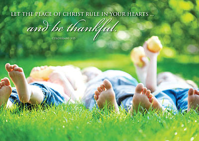 The Peace Of Christ Poster