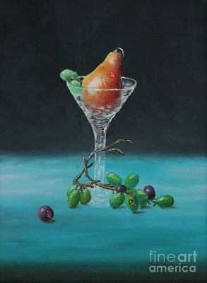 The Pear Martini Poster