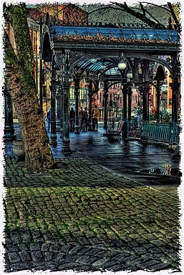 The Pergola In Pioneer Square IIi Poster by David Patterson