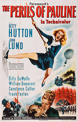 The Perils Of Pauline, Us Poster, Betty Poster