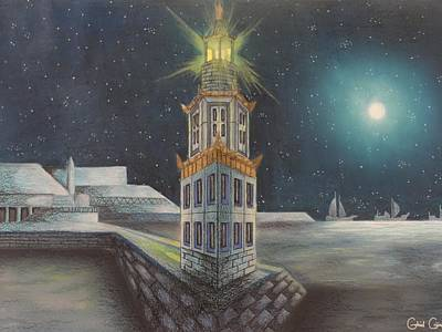The Pharos Of Alexandria  Poster