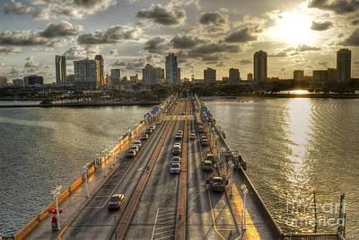 The Pier In Saint Petersburg Florida Poster